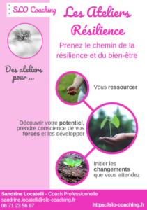 Brochure Ateliers Résilience