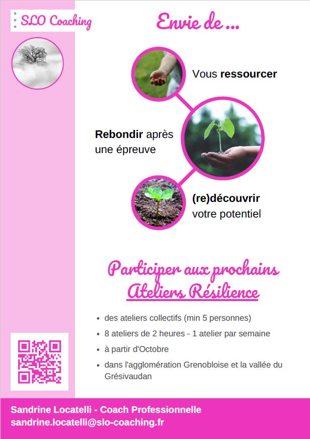 Flyer Ateliers Résilience